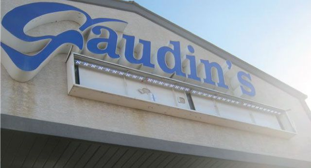 Outdoor sign - Gaudin's Honda