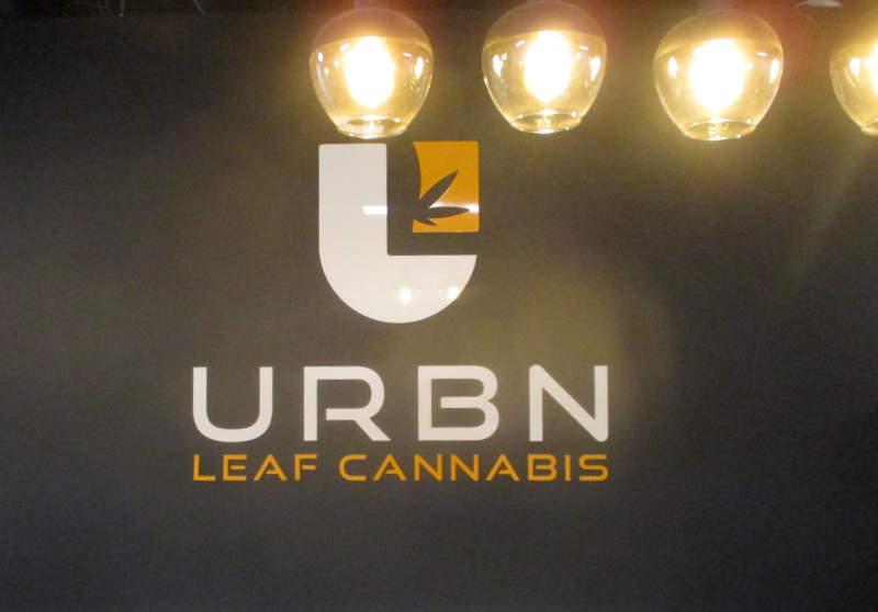 interior sign - urban leaf